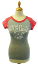'Byrd' -  Womens Retro 50s T-Shirt by UCLA