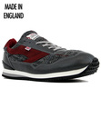WALSH ENSIGN MADE IN ENGLAND HARRIS TWEED TRAINERS