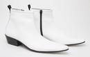 DELICIOUS JUNCTION ZIGGY RETRO MOD CHELSEA BOOTS