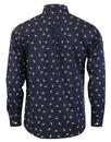 AFIELD Cognito Mens Retro Mod Ski Jump Shirt (N)