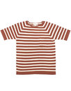 AFIELD Men's Retro Mod Striped Knitted T-Shirt - R