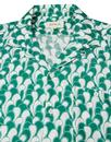 Selleck AFIELD Retro 70s Cine Waves Hawaiian Shirt