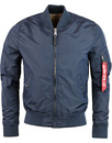 alpha industries ma1 TT rep blue