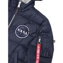 Apollo 11 ALPHA INDUSTRIES Hooded Puffer Jacket