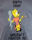 ALPHA INDUSTRIES Cool Cat Indie USAF Tee
