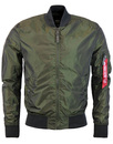 alpha industries ma1 lw bomber green