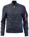 alpha industries  MA1TT bomber jacket blue mod