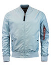 alpha industries MA 1TT Bomber Jacket air blue