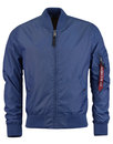 Alpha industries mod Bomber Jacket ocean blue