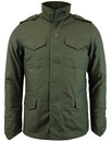 alpha industries retro mod m65 field jacket olive