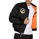Nasa MA-1 VF ALPHA INDUSTRIES Mod Bomber Jacket B