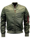 alpha industries ma1 vf retro mod bomber jacket
