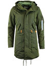ALPHA INDUSTRIES Womens Mod CW TT Fishtail Parka