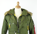 ALPHA INDUSTRIES Retro Mod PPS N3B Padded Parka DG