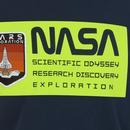 ALPHA INDUSTRIES x NASA Retro Mars Neon Tee (Navy)