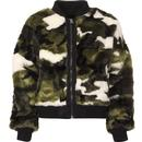 ALPHA INDUSTRIES MA1 Rev. Fur Womens Bomber Jacket