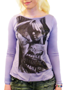 ANDY WARHOL EMPIRE NICO SHIRT TOP RETRO 60s MOD