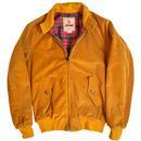 Baracuta G9 AF Cord Men's 1960s Mod Harrington Jacket in Honey