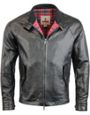 baracuta g4 oiled leather Faded black