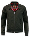 baracuta womens g9 original mod harrington black