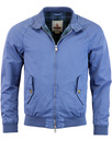 baracuta garment dyed g9 Harrington aviation blue