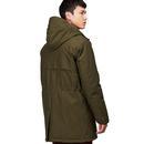 BARACUTA Men's Mod Quilted Storm Parka Jacket