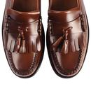 Heritage Layton BASS WEEJUNS Kiltie Loafers BROWN