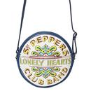 The Beatle disaster design circle handbag blue