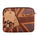 BEATLES LAPTOP SLEEVE 13 INCH UNION JACK RETRO BAG