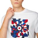 BEN SHERMAN Retro Mod Fractured Target T-Shirt