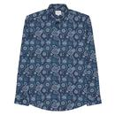 BEN SHERMAN Men's Retro Mod Foulard Print Shirt