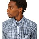 BEN SHERMAN Signature Long Sleeve Gingham Shirt DB