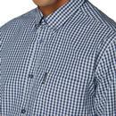 BEN SHERMAN Mod LS Signature Gingham Shirt (DB)