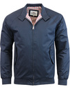 BEN SHERMAN 60s Mod Retro Harrington Jacket - Navy