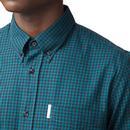 Modernist BEN SHERMAN 60's Archive Gingham Shirt