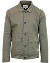 ben sherman light shell indie military jacket oliv