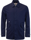 ben sherman cropped mac medieval blue mod