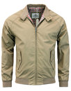 ben sherman mens retro mod harrington jacket sand