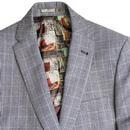 BEN SHERMAN Tailoring Prince of Wales Check Suit