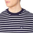B BY BEN SHERMAN Men's Retro 70s Towelling T-Shirt
