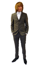 BEN SHERMAN MOD SUIT CHECK COUNTRY RETRO SUIT