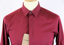 BEN SHERMAN Soho Slim Retro 60s Mod Dress Shirt VC