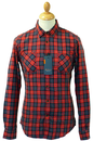 Woodcutter Check BEN SHERMAN Retro Mod Shirt