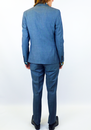 BEN SHERMAN Tailored Retro 60s Mod Mohair Suit BM
