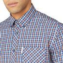 BEN SHERMAN Signature House Check SS Shirt (Anise)