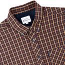 BEN SHERMAN Mod Signature House Check Shirt MARINE