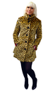 Wild Thing TATYANA Retro 50s Faux Fur Coat