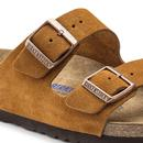Arizona BIRKENSTOCK Soft Footbed Sandals (Mink)