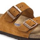 BIRKENSTOCK Arizona SFB Women's Mink Suede Sandals