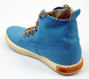 FL86 BLACKSTONE Retro Indie Hi Top Canvas Boots B